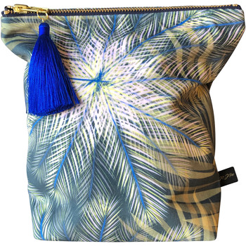 Rebecca J Mills Designs Breeze pouch wash bag large women's Washbag in Blue. Sizes available:One size