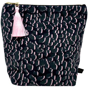 Rebecca J Mills Designs Magic grey pouch wash bag medium women's Washbag in Multicolour. Sizes available:One size