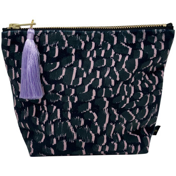 Rebecca J Mills Designs Magic grey pouch wash bag small women's Washbag in Multicolour. Sizes available:One size