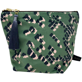 Rebecca J Mills Designs Scaled 1 pouch wash bag small women's Washbag in Green. Sizes available:One size