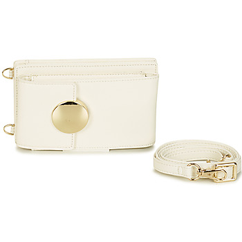 André LULU women's Clutch Bag in White. Sizes available:One size