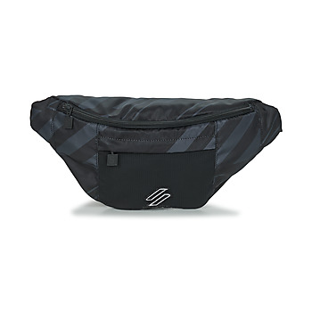Superdry SPORTSTYLE NRG AOP BUM BAG women's Hip bag in Black. Sizes available:One size