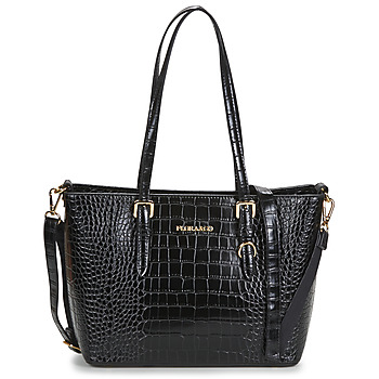 Nanucci 9530 women's Shopper bag in Black. Sizes available:One size