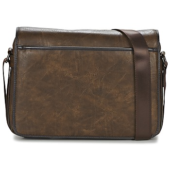 Casual Attitude FILOU men's Messenger bag in Brown. Sizes available:One size