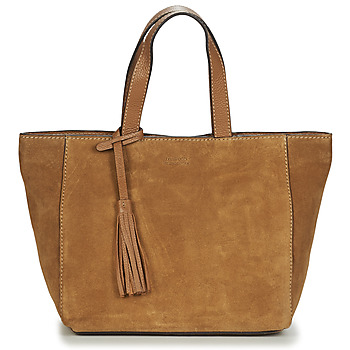 Loxwood CABAS PARISIEN VELOURS women's Shopper bag in Brown. Sizes available:One size